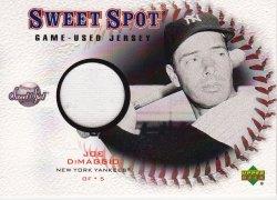 2001  Sweet Spot Game Jersey Joe DiMaggio
