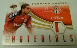 2010 Upper Deck MLS Materials Premium Series 19/35 Dwayne De Rosario