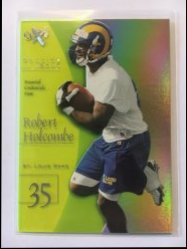 1998 Skybox E-X2001 Essential Credentials Now #59 Robert Holcombe