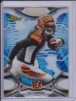 A.J. Green 2015 Finest Diamond Refractor /60