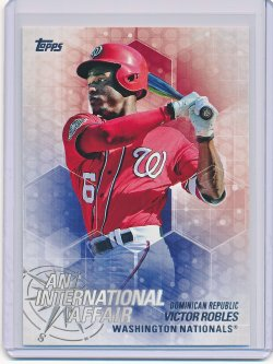 Victor Robles 2018 Topps Update An International Affair