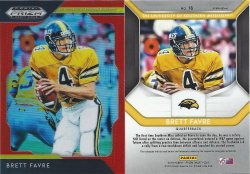 2019 Panini Prizm Draft Picks Prizms Orange #16 Brett Favre