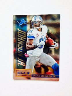 2013 Panini R&S Longevity  Calvin Johnson