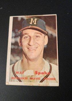 1957 Topps  warren spahn