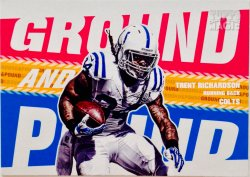 2013 Topps Magic Ground and Pound Insert Trent Richardson