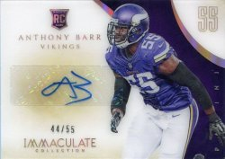 2014  Panini Immaculate Anthony Barr Acetate Auto