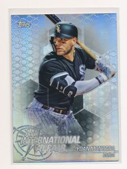 Yoan Moncada 2018 Topps Chrome Update An International Affair