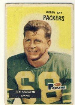 1955 Bowman  #86 Len Szafaryn