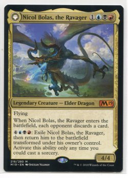 2018  Core 2019 Nicol Bolas, the Ravager