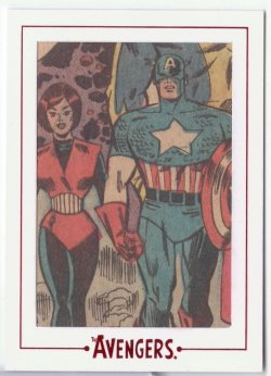 Avengers Silver Age CAPTAIN AMERICA / WASP