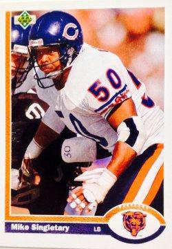 1991 Upper Deck  Mike Singletary #229