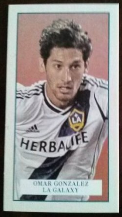 2013 Topps MLS Mini Set Omar Gonzalez