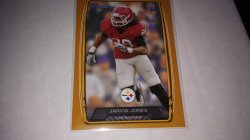 2013 Topps bowman jarvis jones