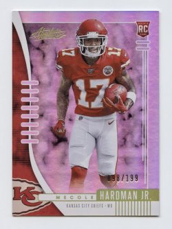 2019 Absolute Spectrum #128 Mecole Hardman Jr./199