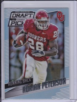 Adrian Peterson 2015 Panini Prizm Draft Picks Prizms