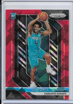 2018-19 Panini Prizm Devonte Graham Red Ice