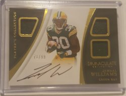 2017 Panini Immaculate Jamaal Williams