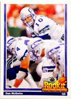 1991 Upper Deck Rookie Force Dan McGwire