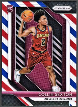 2018   Collin Sexton Prizm Red White Blue Refractor RC