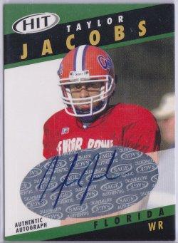 2003  SAGE HIT - Autographs Emerald Taylor Jacobs