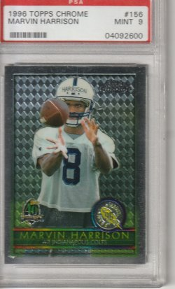1996 Topps Chrome Marvin Harrison