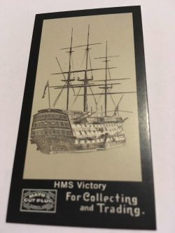 Topps Mayo  HMS VICTORY  S-10  Oldest Naval Ship in Commission  Battle of Trafalgar
