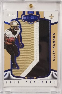 2017 Plates & Patches Full Coverage Jumbo Blue Patch