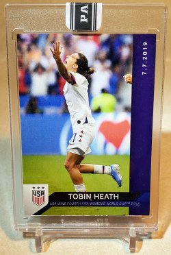 2019 Panini Instant Black Tobin Heath