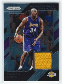 2018-19 Panini Prizm Shaquille ONeal Jersey