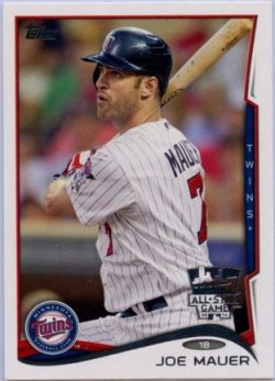 2014 Topps All Star Fan Fest  Joe Mauer All Star Factory Set Exclusive