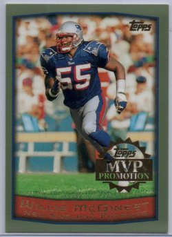 1999  Topps MVP Promotion Willie McGinest