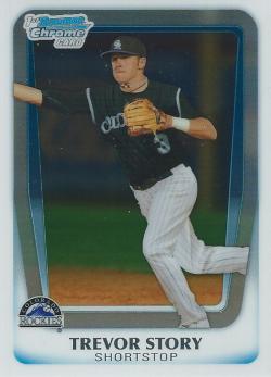 2011 Bowman Chrome Draft Picks & Prospects  Trevor Story
