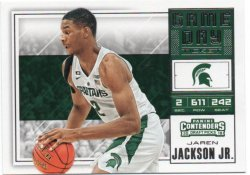 2018-19 Panini Contenders Draft Picks Jackson Jr, Jaren - Game Day Tickets
