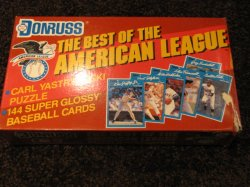 1990 Donruss Best of American League Complete Set