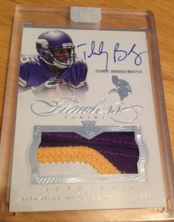 2014 Panini Flawless Teddy Bridgewater Patch Auto
