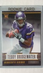 2014 Panini Rookies And Stars  Teddy Bridgewater