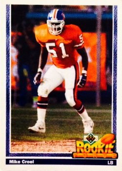 1991 Upper Deck Rookie Force Mike Croel