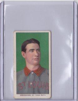 1909  T206 Hindu Brown Roger Bresnahan - HOF