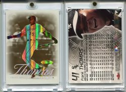 2000   Fleer Showcase Legacy Collection Frank Thomas