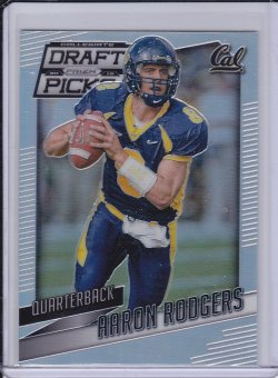 Aaron Rodgers 2015 Panini Prizm Draft Picks Prizms