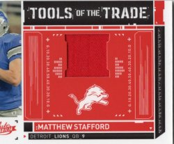 2010 Panini Absolute Memorabilia-Tools of the Trade Red Matthew Stafford