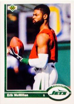 1991 Upper Deck  Erik McMillan #211