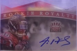 2015 Panini Crown Royale Rookie Royalty Justin Hardy