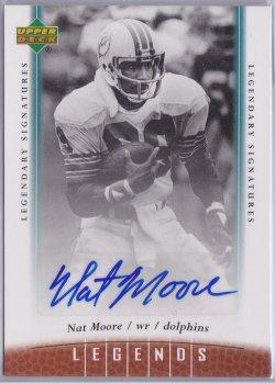 2006  Upper Deck Legends - Legendary Signatures Nat Moore