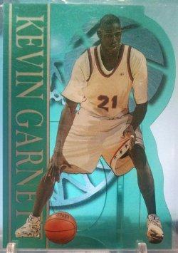 1995  Classic Basketball Rookies Kevin Garnett clear cut