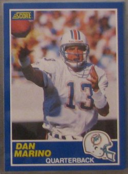 1989 Score  #13 - Dan Marino