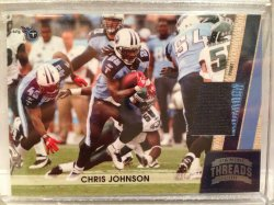 2011 Panini Threads Chris Johnson Patch