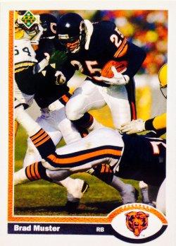 1991 Upper Deck  Brad Muster #208