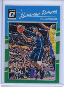 2016-17 Donruss Optic Harrison Barnes Green