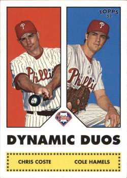 2006 Topps 52 Dynamic Duos Hamels/Coste